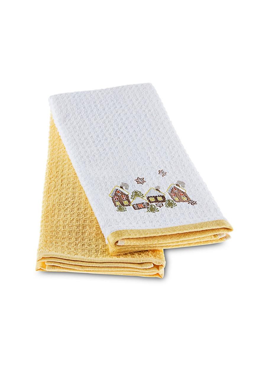 Standart unisex Renksiz Taç 40x60 cm Brownhome Mutfak Havlusu Ev Sofra Ürünleri Tekstili