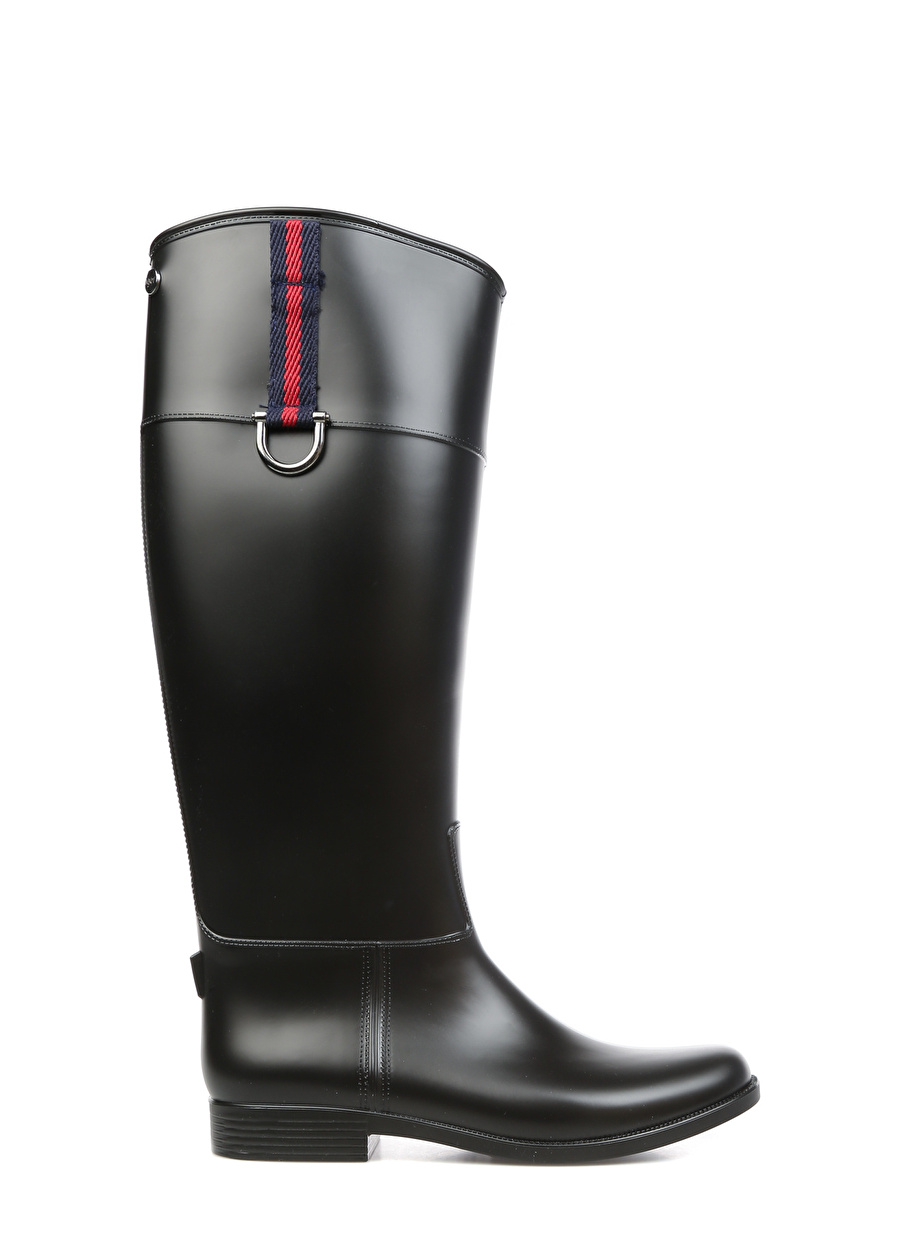 40 Siyah Igor Yağmur Çizmesi Ayakkabı Çanta Kadın Bot