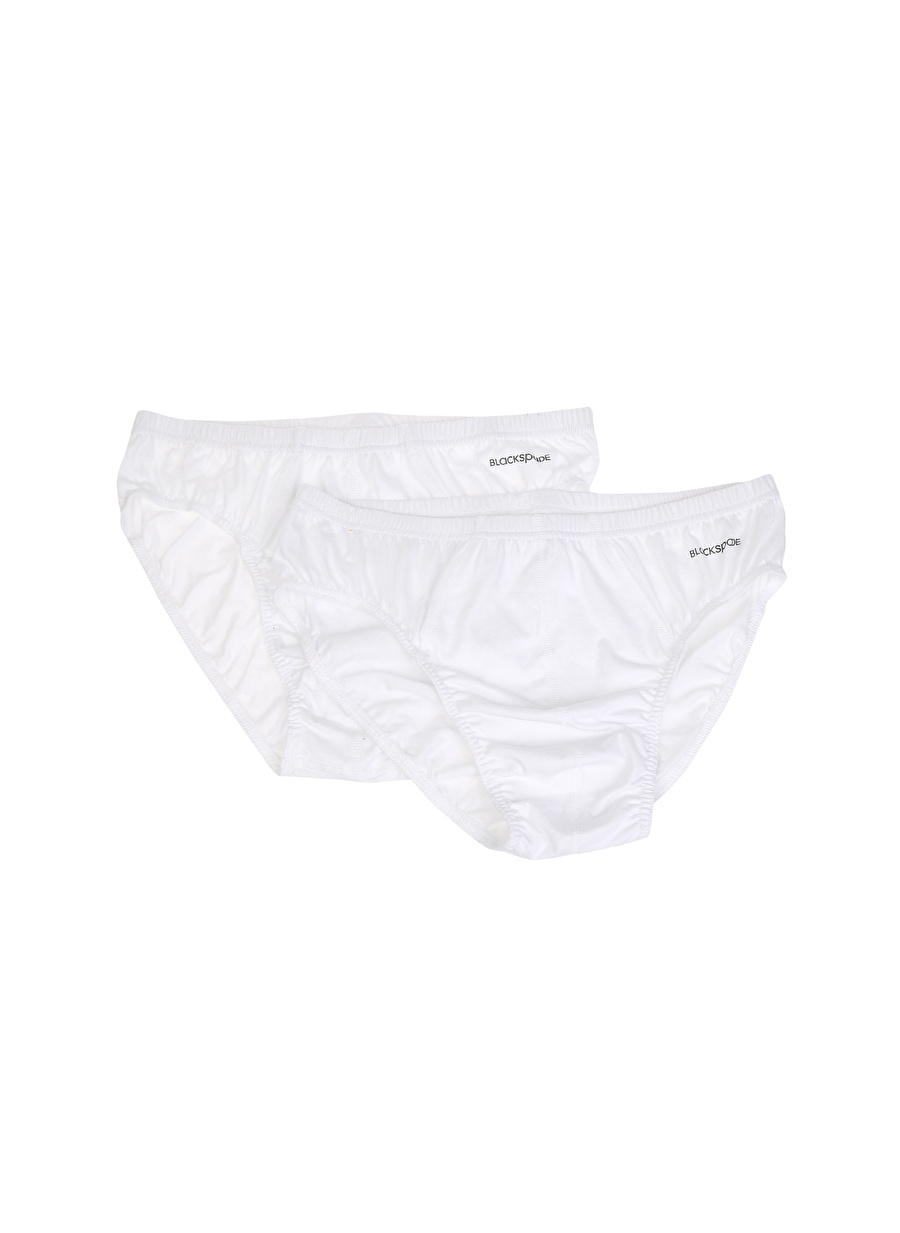 XL Erkek Beyaz Blackspade Dry Hygene 2\'li Slip Bottom Underwear Mens