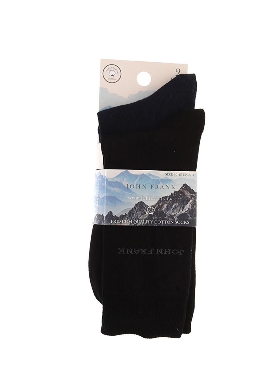 Standart Erkek Çok Renkli John Frank Çorap Bottom Underwear Mens
