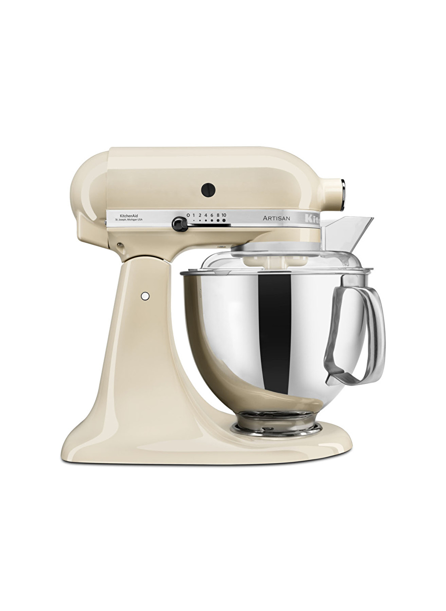 Standart unisex Renksiz Kitchen Aid KitchenAid Artisan 4,8 lt Mikser 5KSM175PS Almond Cream-EAC Ev Elektrikli Aletleri Küçük