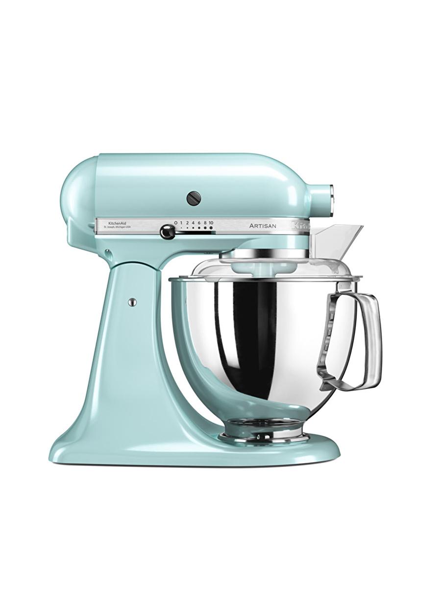 Standart unisex Renksiz Kitchen Aid KitchenAid Artisan 4,8 lt Mikser 5KSM175PS Ice Blue-EIC Ev Elektrikli Aletleri Küçük