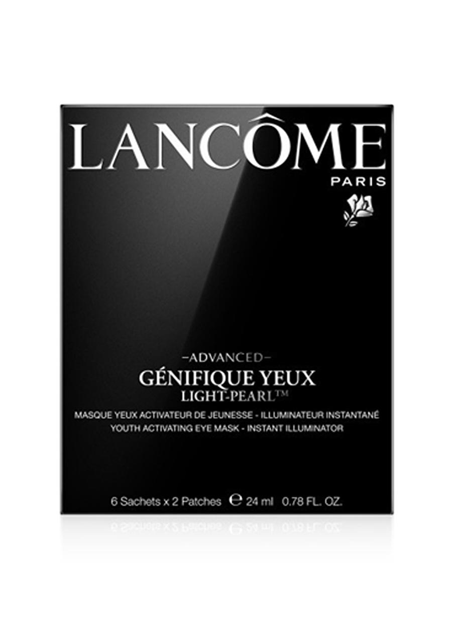 Standart Kadın Renksiz Lancome Advanced Génifique Yeux Light Pearl 24 ml Bakım Maskesi Kozmetik Cilt Bakımı Yüz Peeling