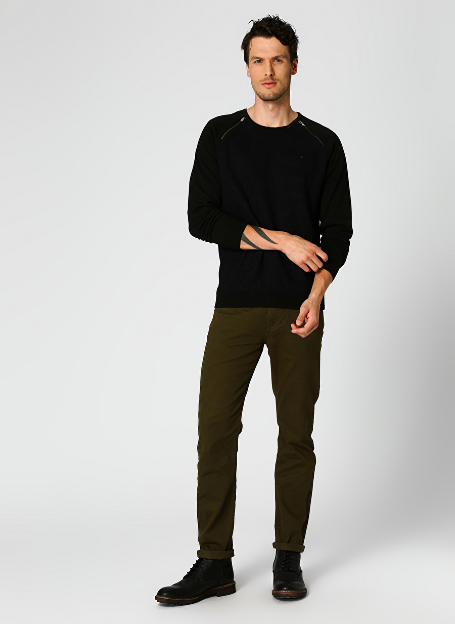 31 Haki Limon Regular Fit Pantolon Erkek Giyim
