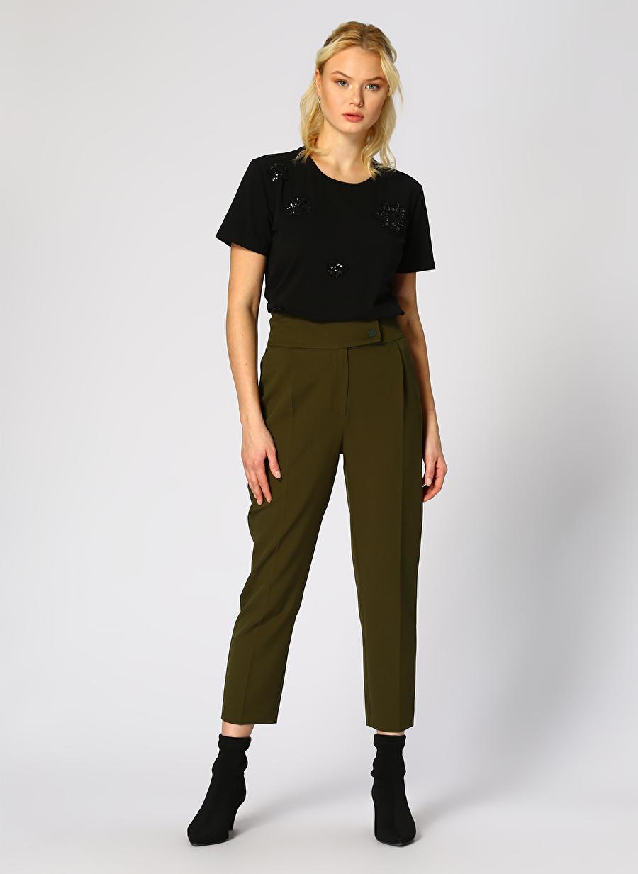 44 Haki Random Pantolon Kadın Giyim