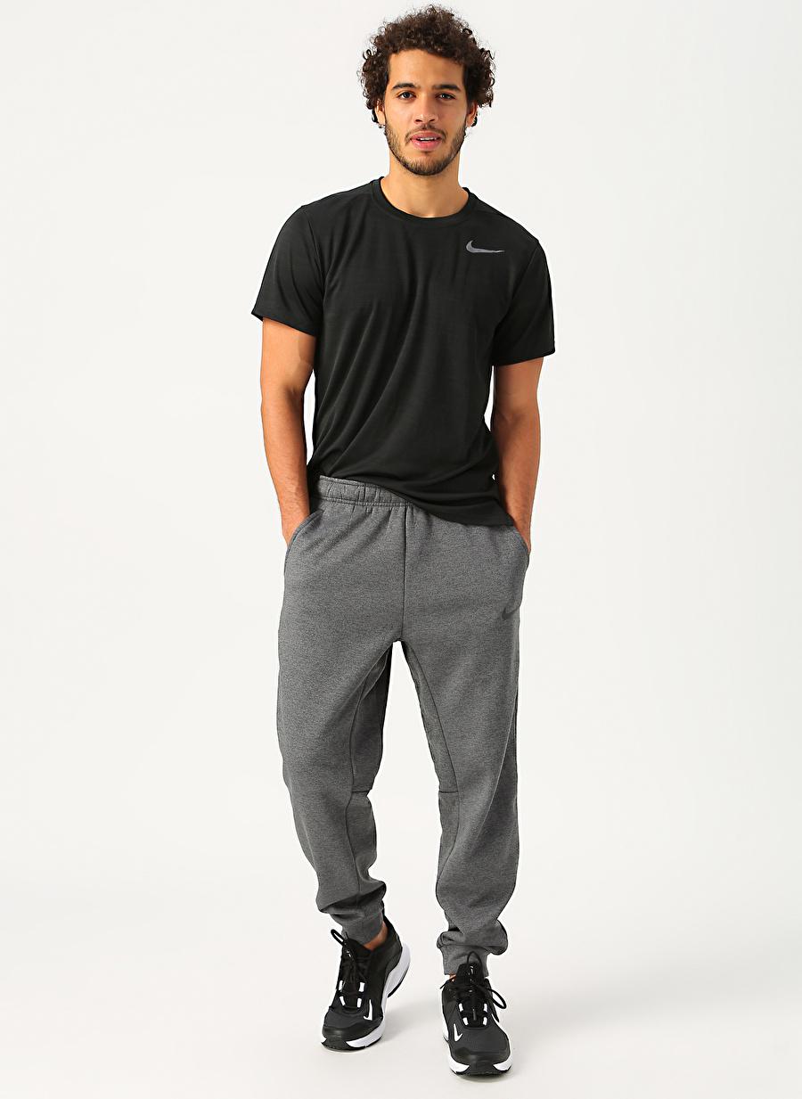 XL Gri Nike Therma Erkek Antrenman Eşofman Altı Spor Giyim Tayt