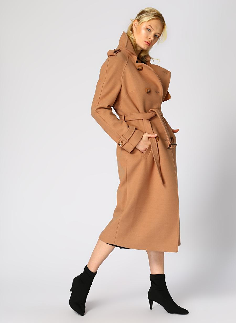 40 Deve Tüyü Ekol Dg Manto Kadın Dış Giyim Mont