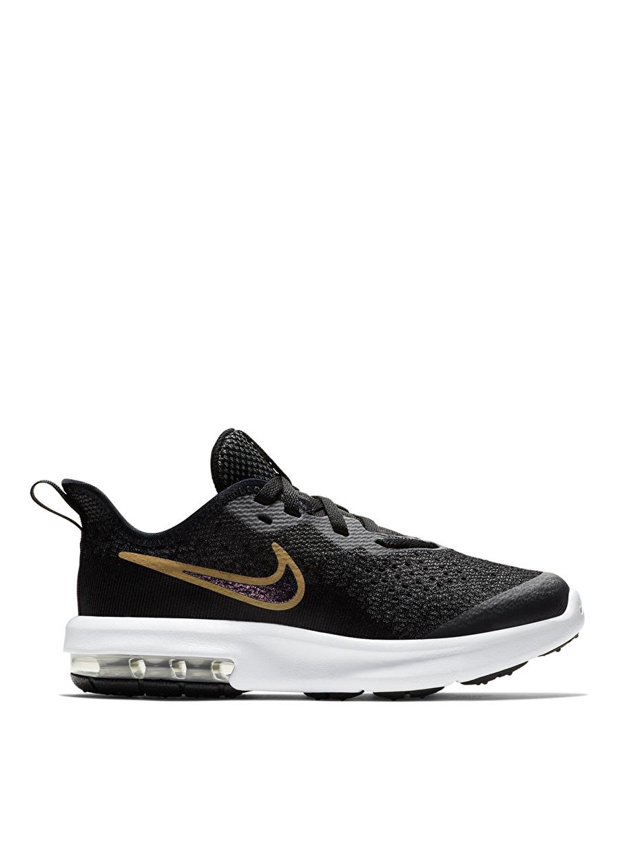 27.5 Erkek Siyah - Gri Gümüş Nike Yürüyüş Ayakkabısı Çanta Çocuk Ayakkabıları Koşu Antrenman