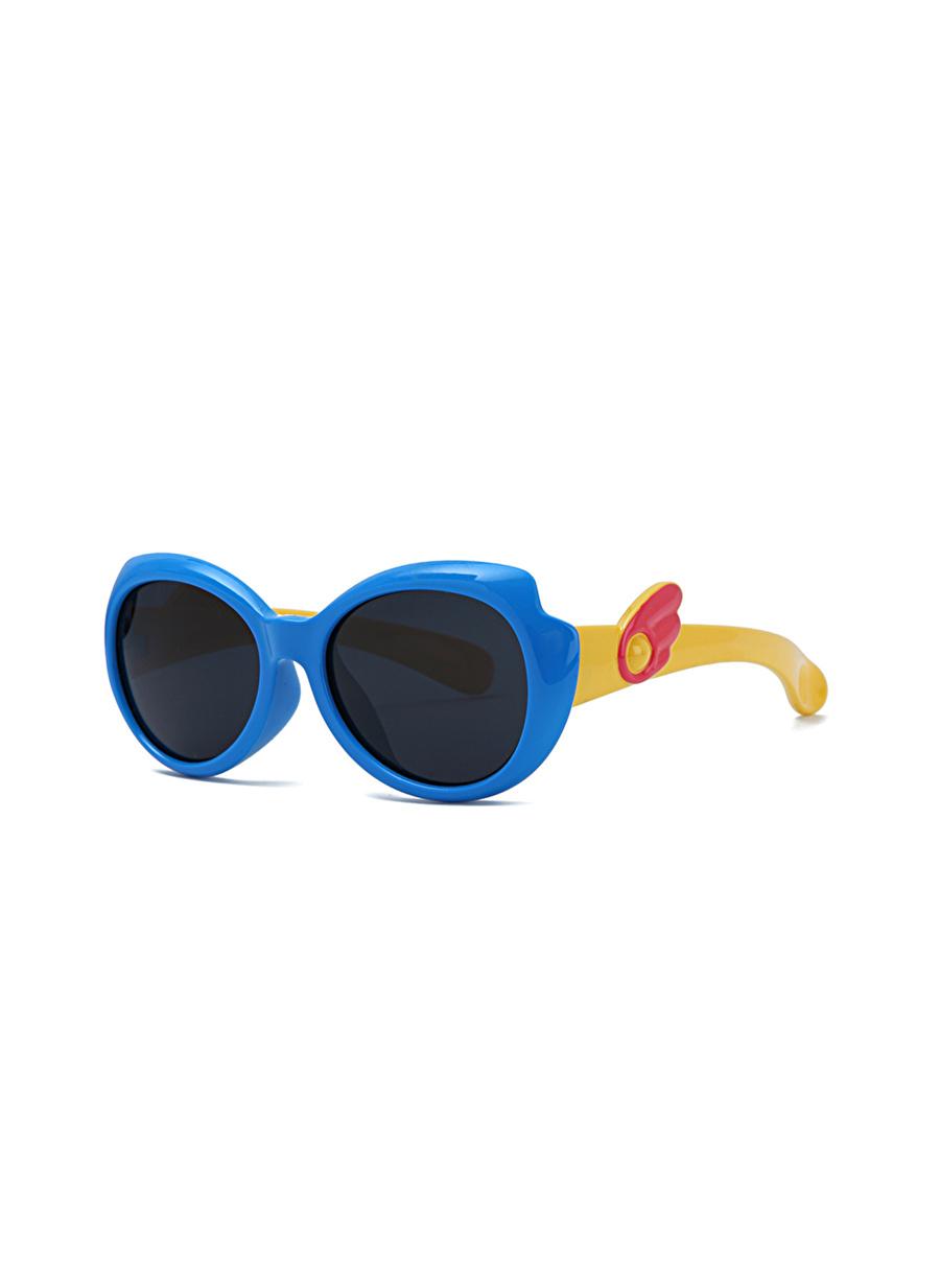 Standart unisex Renksiz Aqua Di Polo 1987 PLD18B101001 Çocuk Güneş Gözlüğü Aksesuar Gözlük