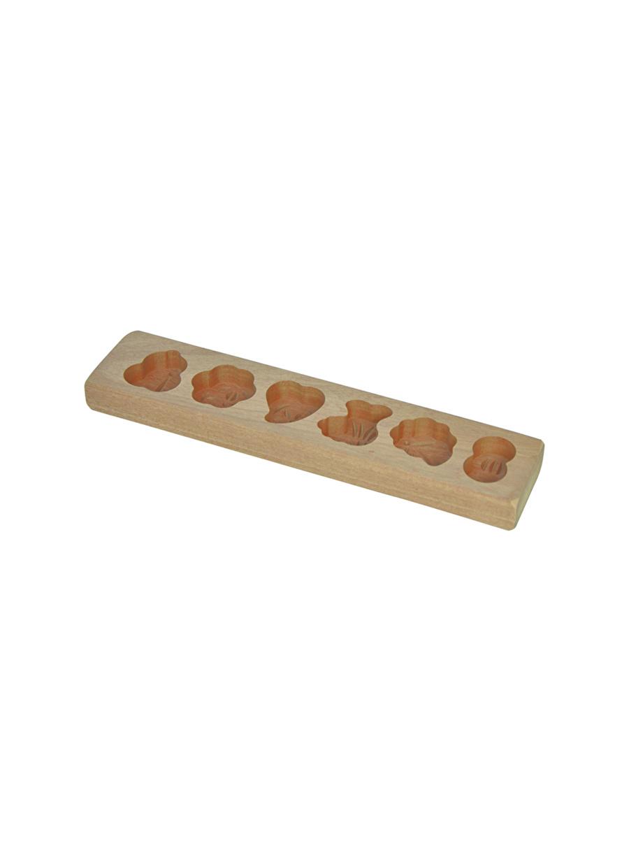 Standart unisex Renksiz Bambum Patty - 6 Bölmeli Kek Kalıbı Ev Mutfak Sofra Ürünleri Pişirme