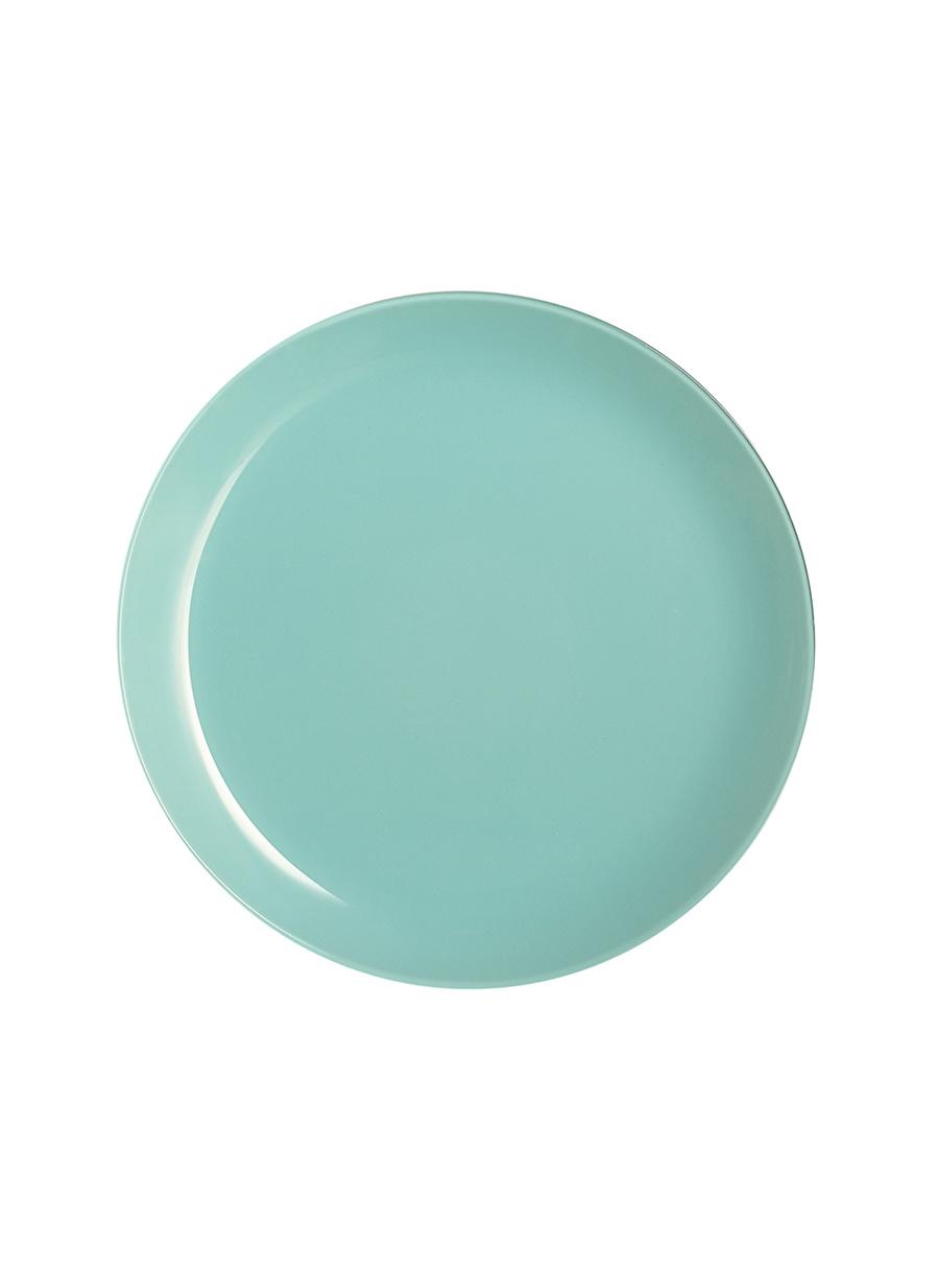 Standart unisex Mint Arkcam Mavi 26 cm Servis Tabağı Ev Mutfak Sofra Ürünleri Tabak
