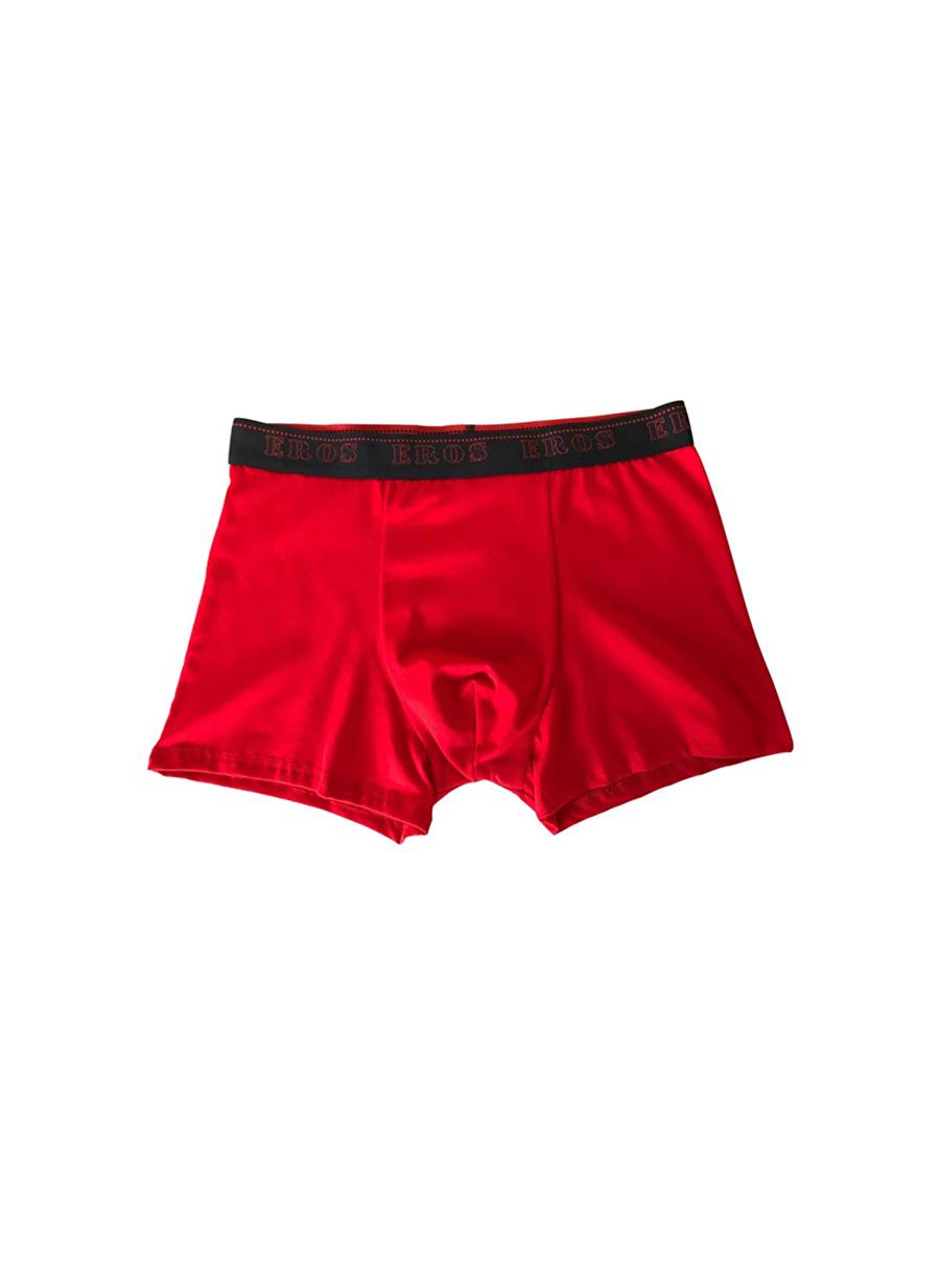S Erkek Kırmızı Er_Os Boxer Bottom Underwear Mens