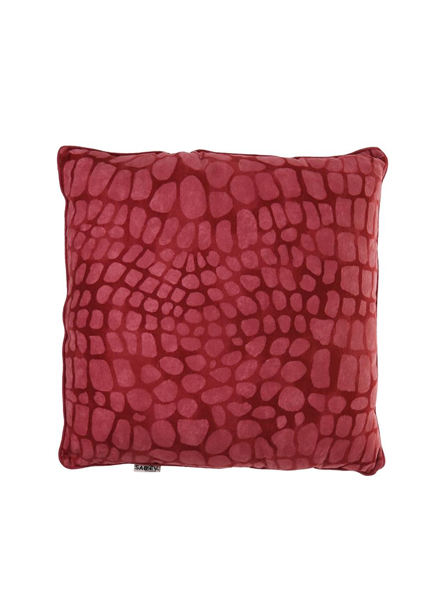 Standart unisex Kırmızı Sarev Kırlent Ev Tekstili Dekoratif Yastık