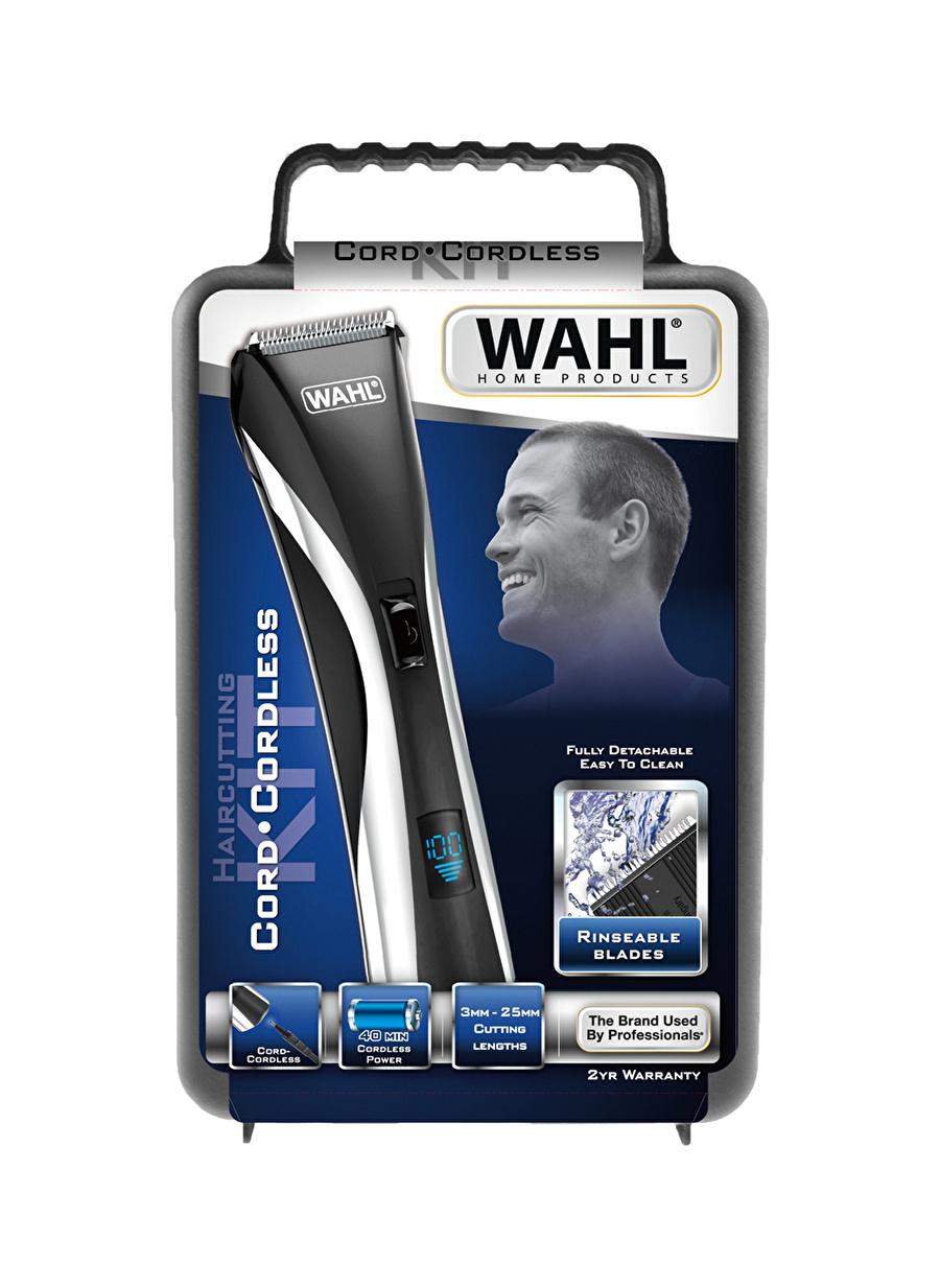 Standart unisex Renksiz Wahl 9697 Hair & Beard LCD Hybrid Saç Sakal Kesme Makinesi Ev Kişisel Bakım