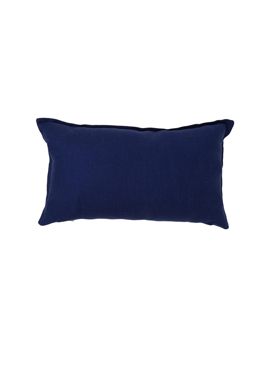 Standart unisex Lacivert Boyner Evde Kırlent Tekstili Dekoratif Yastık