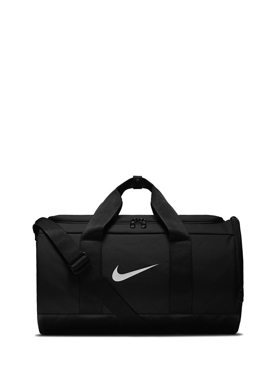 Standart Siyah - Gri Gümüş Nike Team Kadın Spor Çantası Bags Active Streetwear