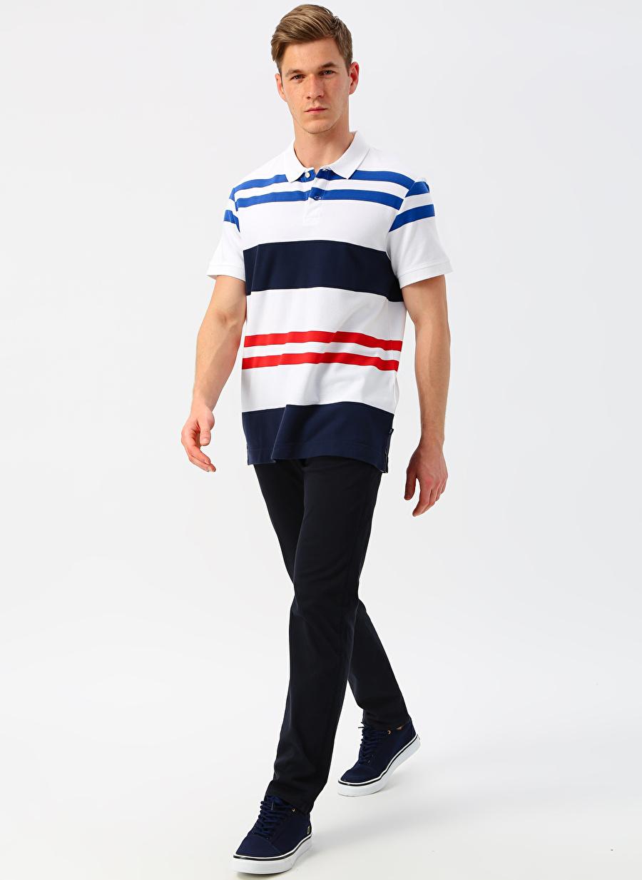 Erkek Lacivert Dockers Smart Supreme Flex Alpha Tapered Klasik Pantolon Bottoms Mens
