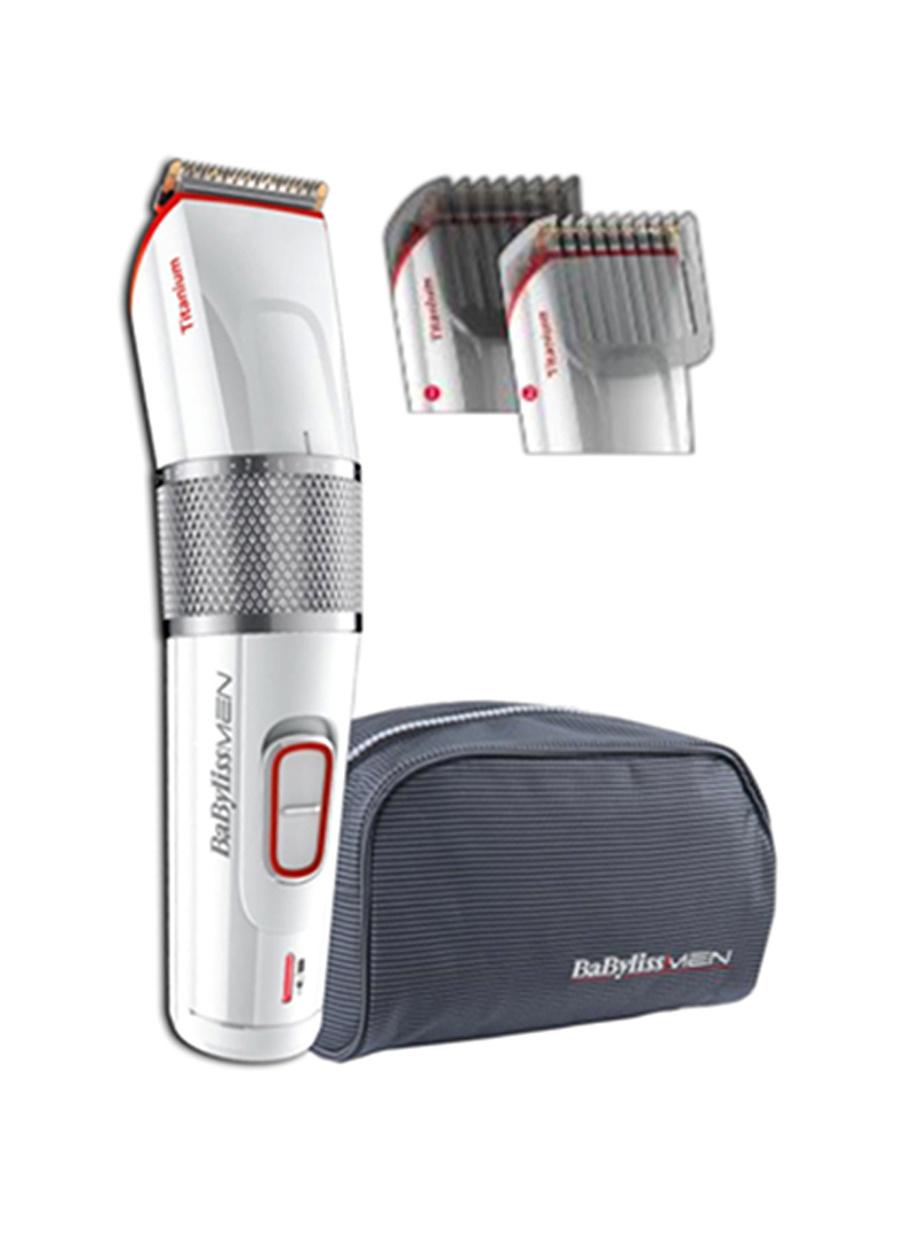 Standart unisex Renksiz Babyliss For Men E971E Pro 40 Titanium Saç Sakal Kesme Makinesi Ev Elektrikli Aletleri Kişisel Bakım Ürünleri