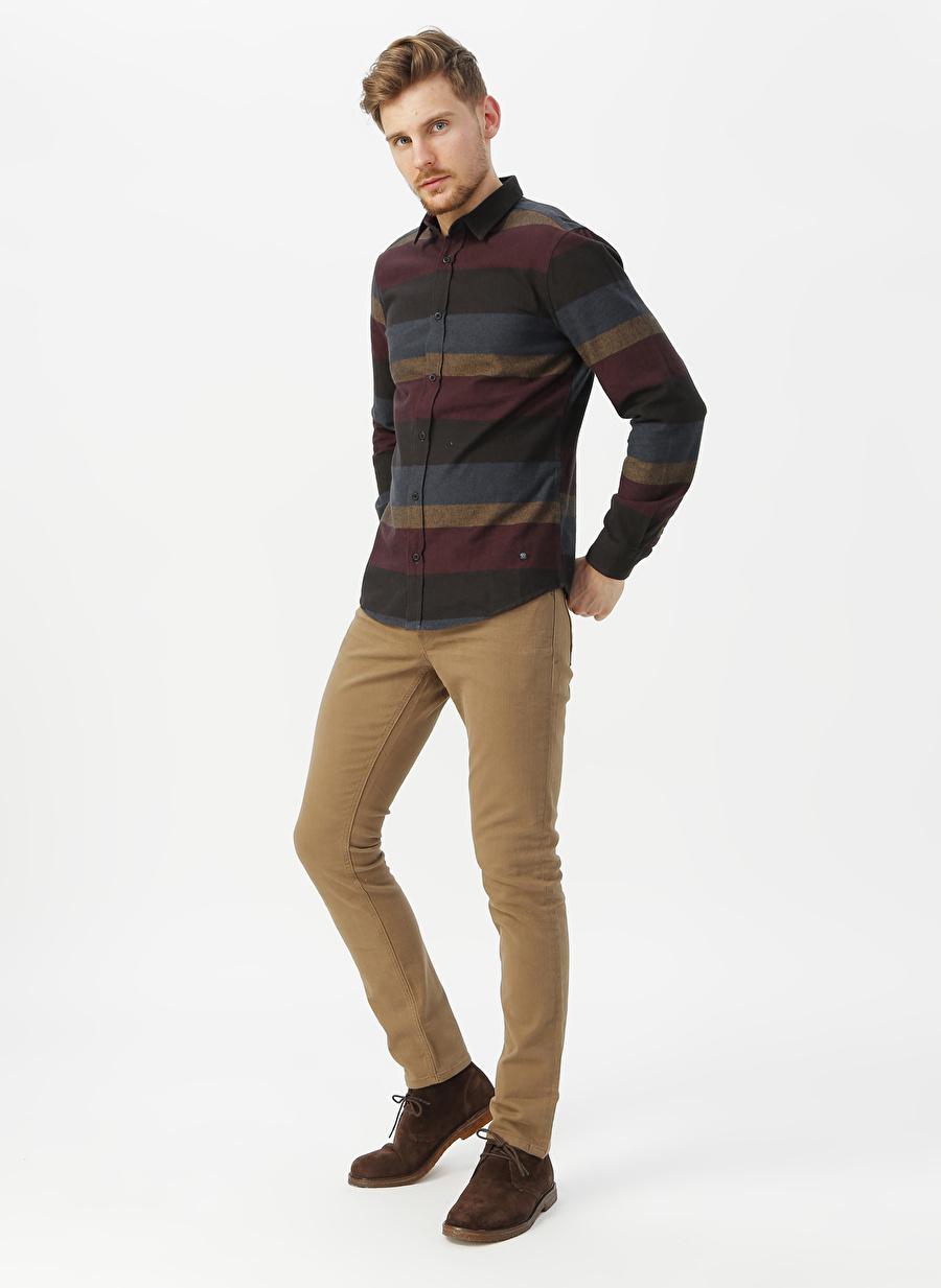 38-32 Erkek Beyaz Loft Bej Klasik Pantolon Bottoms Active Streetwear