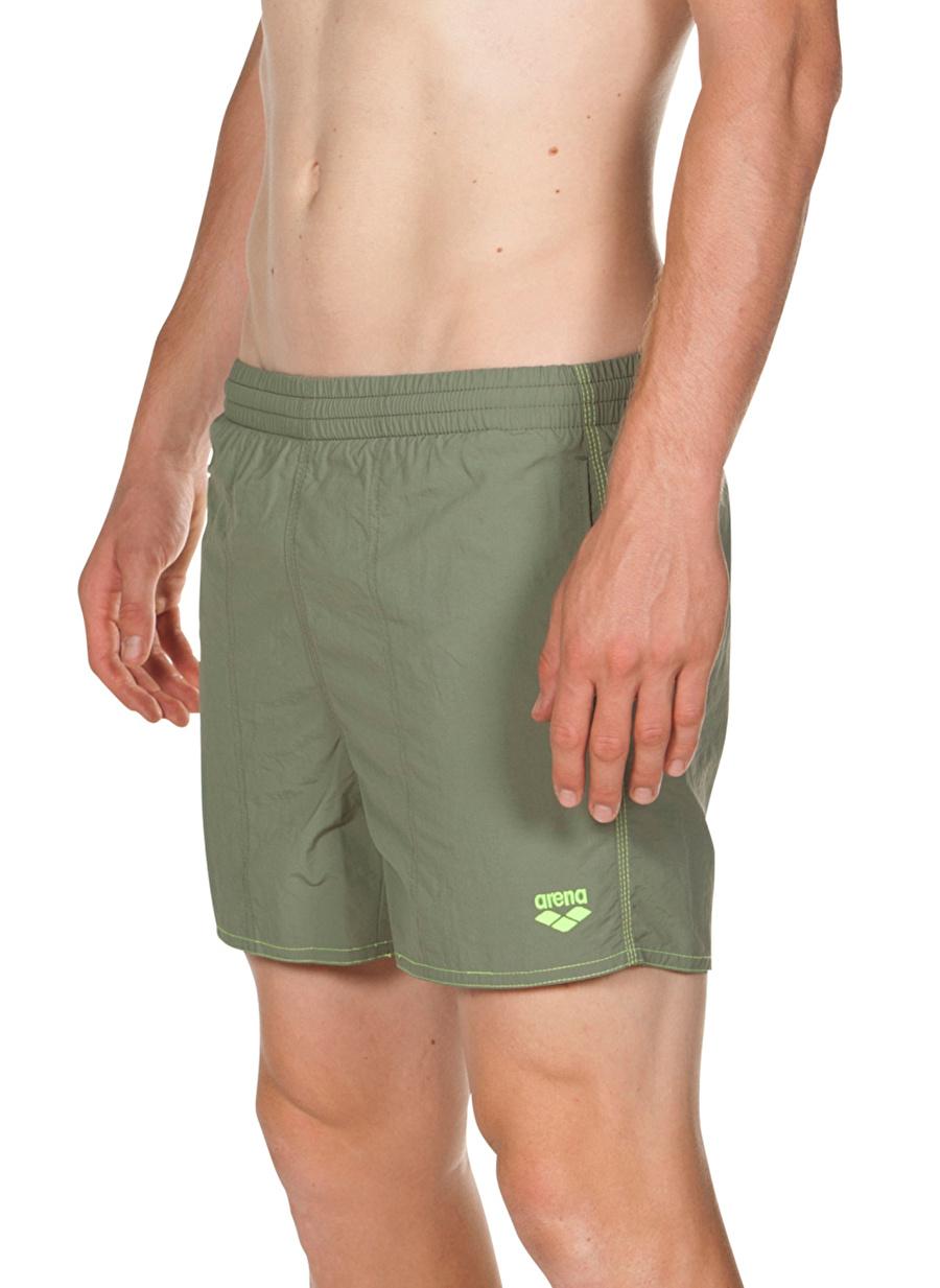 XL Yeşil Arena Bywayx Erkek Antrenman Şort Mayo Plaj Giyim