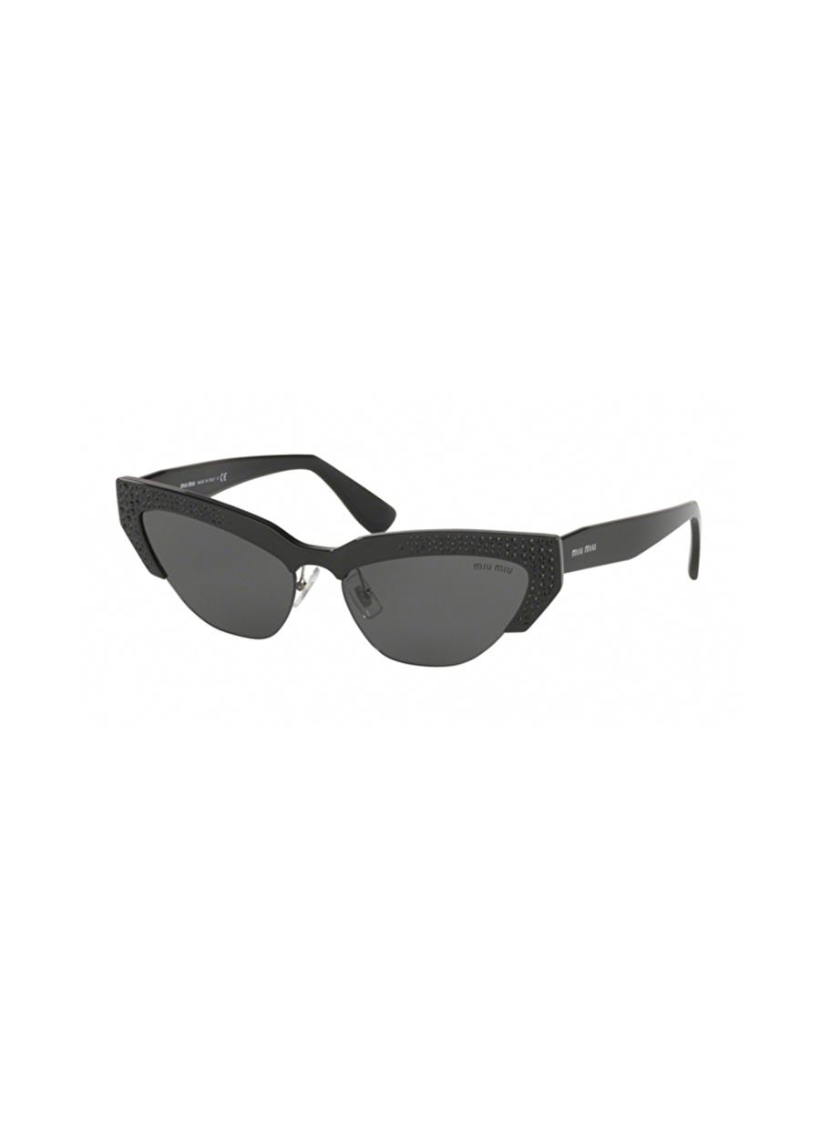 Standart Renksiz Miu Güneş Gözlüğü Kadın Aksesuar Gözlük