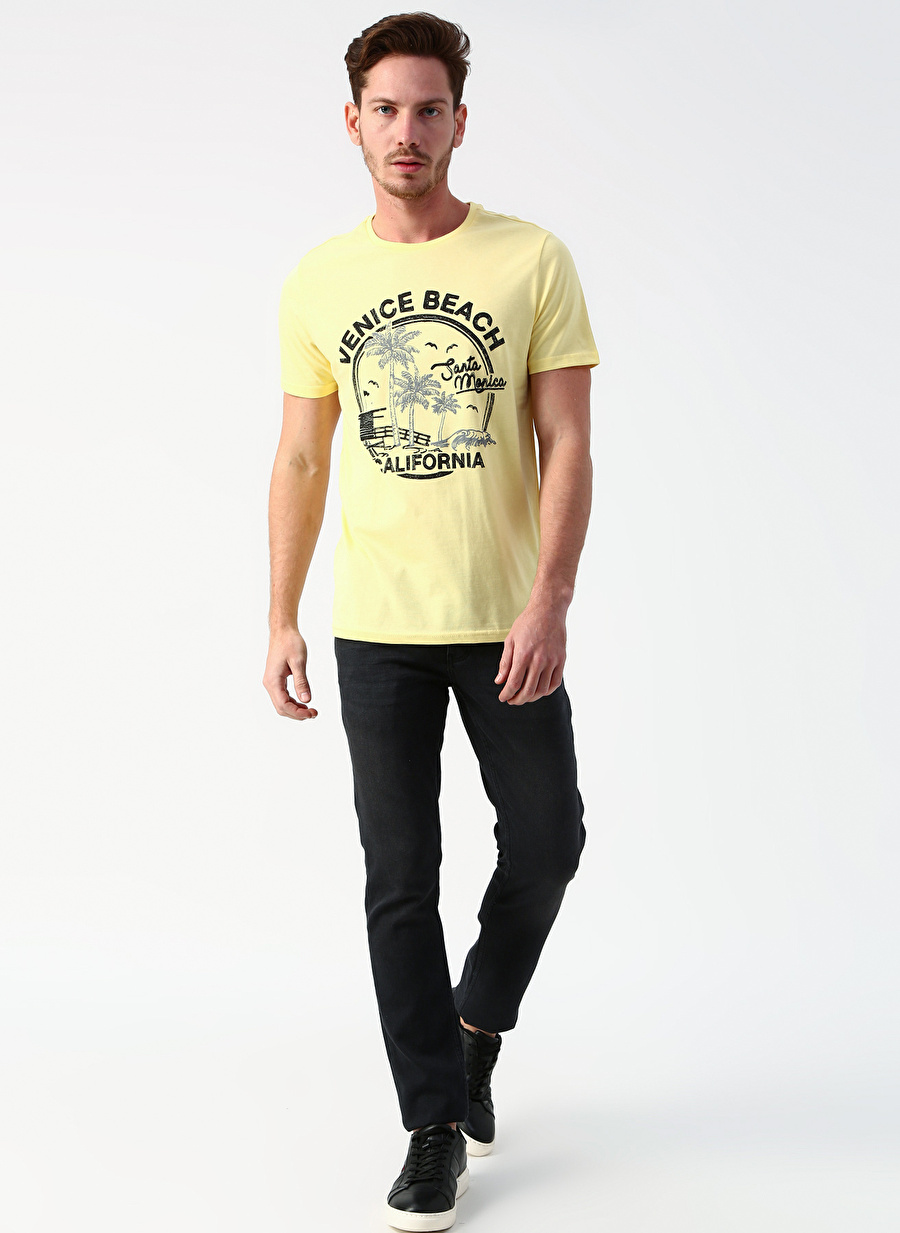34-32 Renksiz Twister Jeans Skinny Fit Mavi Denim Pantolon Erkek Giyim