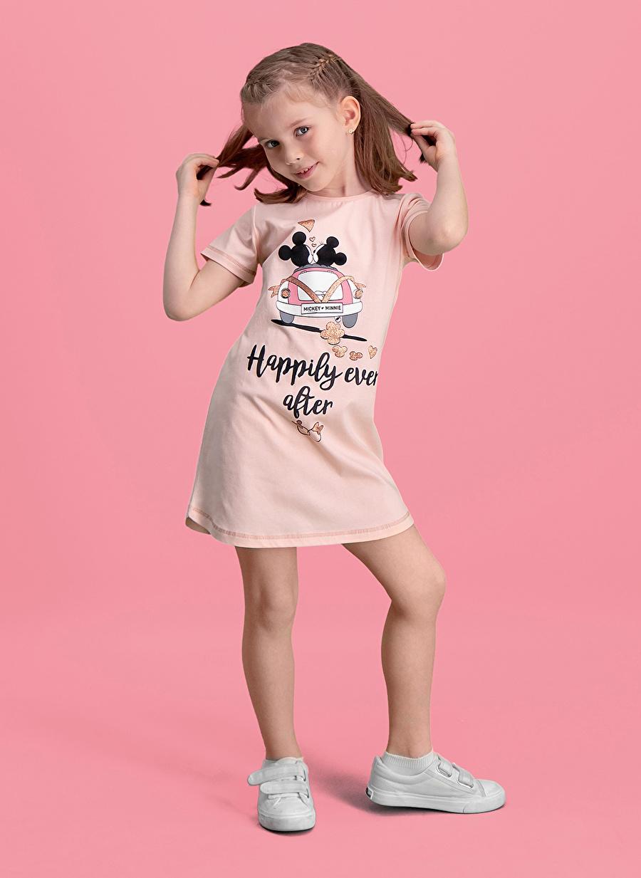 3 Yaş Kadın Pembe Roly Poly Pijama Takımı Çocuk Ev İç Giyim