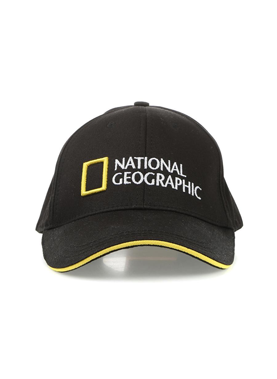 Standart Erkek Siyah National Geographic Şapka Equipment Accessor Active Streetwear