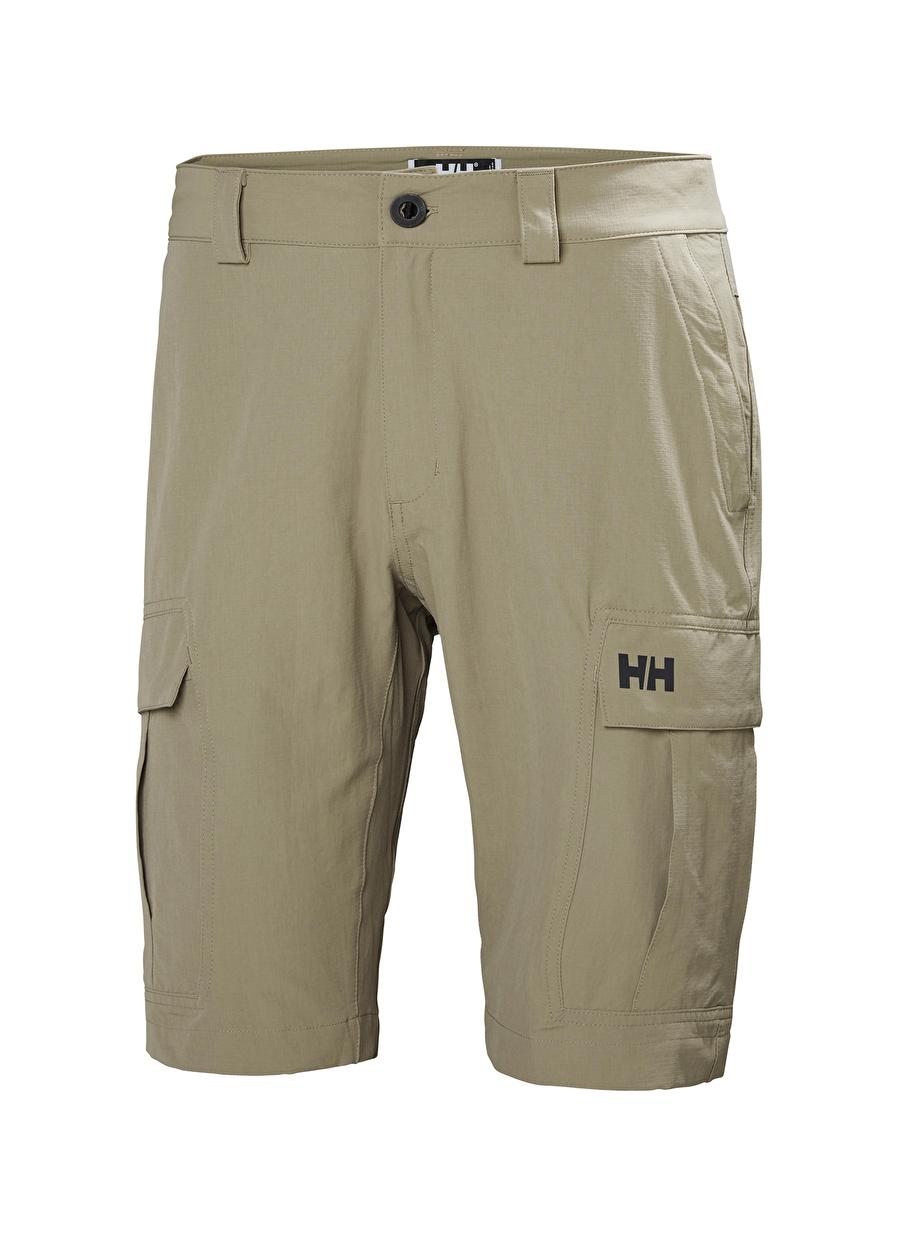 34 Haki Helly Hansen Qd Cargo Shorts Erkek Şort Bottoms Active Streetwear