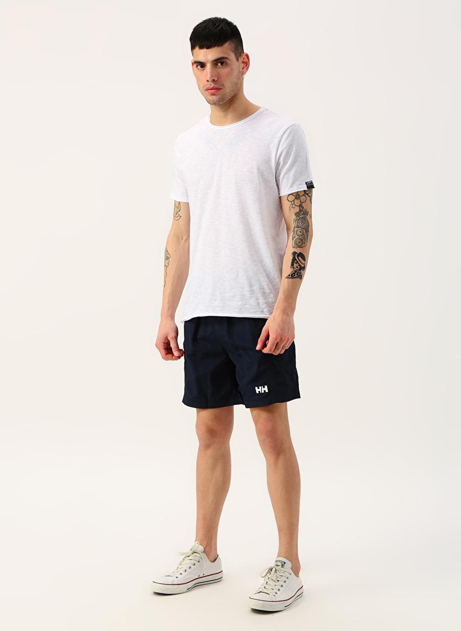 L Erkek Lacivert Helly Hansen Carlshot Swim Trunk Şort Bottoms Active Streetwear