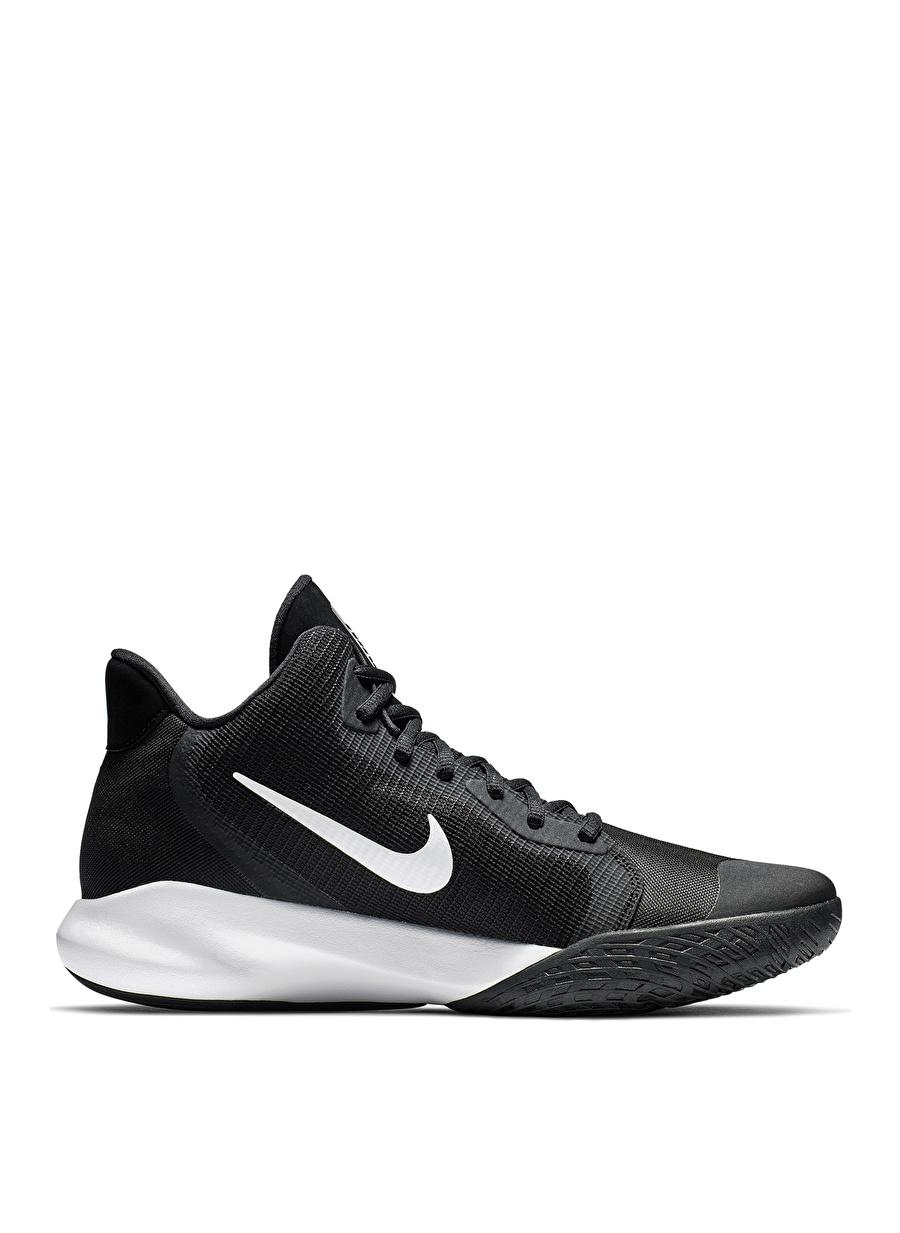 46 Siyah - Beyaz Nike Precision III Erkek Basketbol Ayakkabısı Shoes Active Streetwear