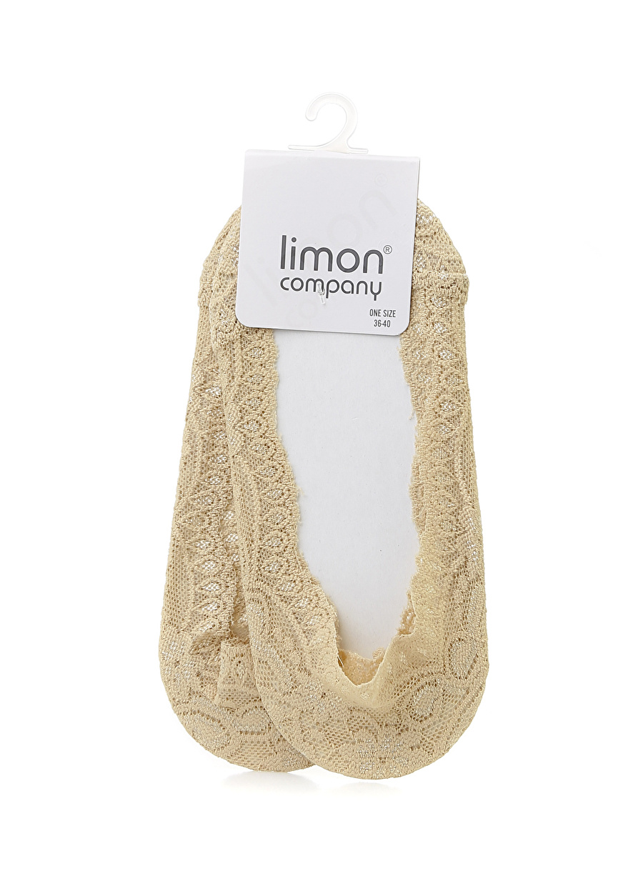 Standart Ten Limon Babet Çorabı Kadın İç Giyim Çorap