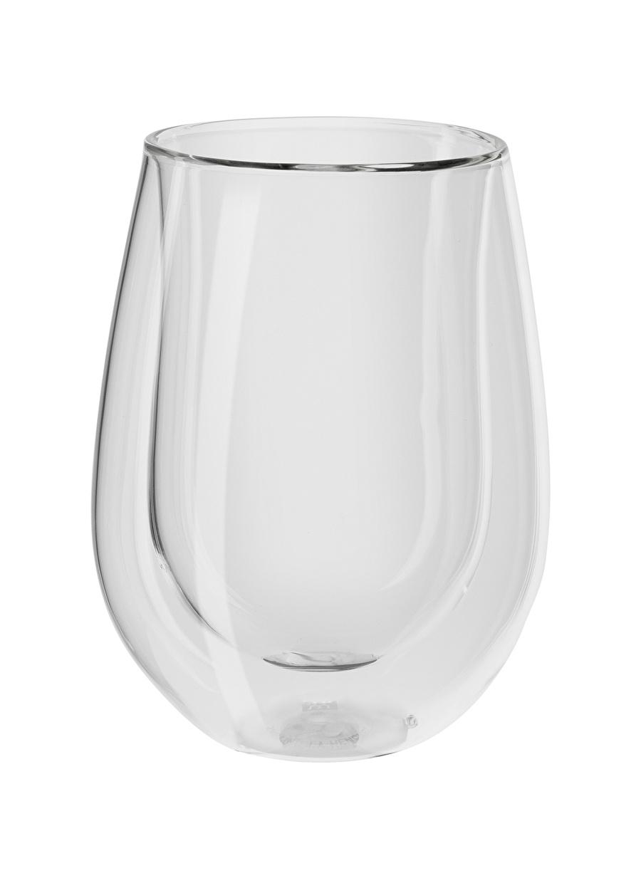 Standart unisex Renksiz Zwilling Çift Camlı 2\'li Beyaz Şarap Bardak Ev Mutfak Sofra Ürünleri Fincan