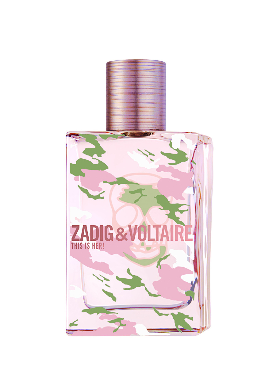 Standart Renksiz Zadigamp;Voltaire Zadig&Voltaire This Is Her No Rules Capsule Collection Edp 50 ml Parfüm Kozmetik Kadın