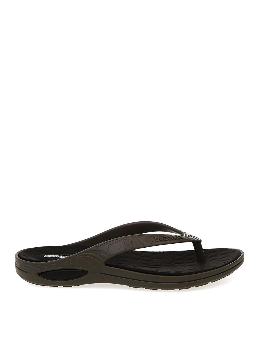 43-44 Haki Boaonda Gri Terlik Ayakkabı Çanta Erkek Sandalet