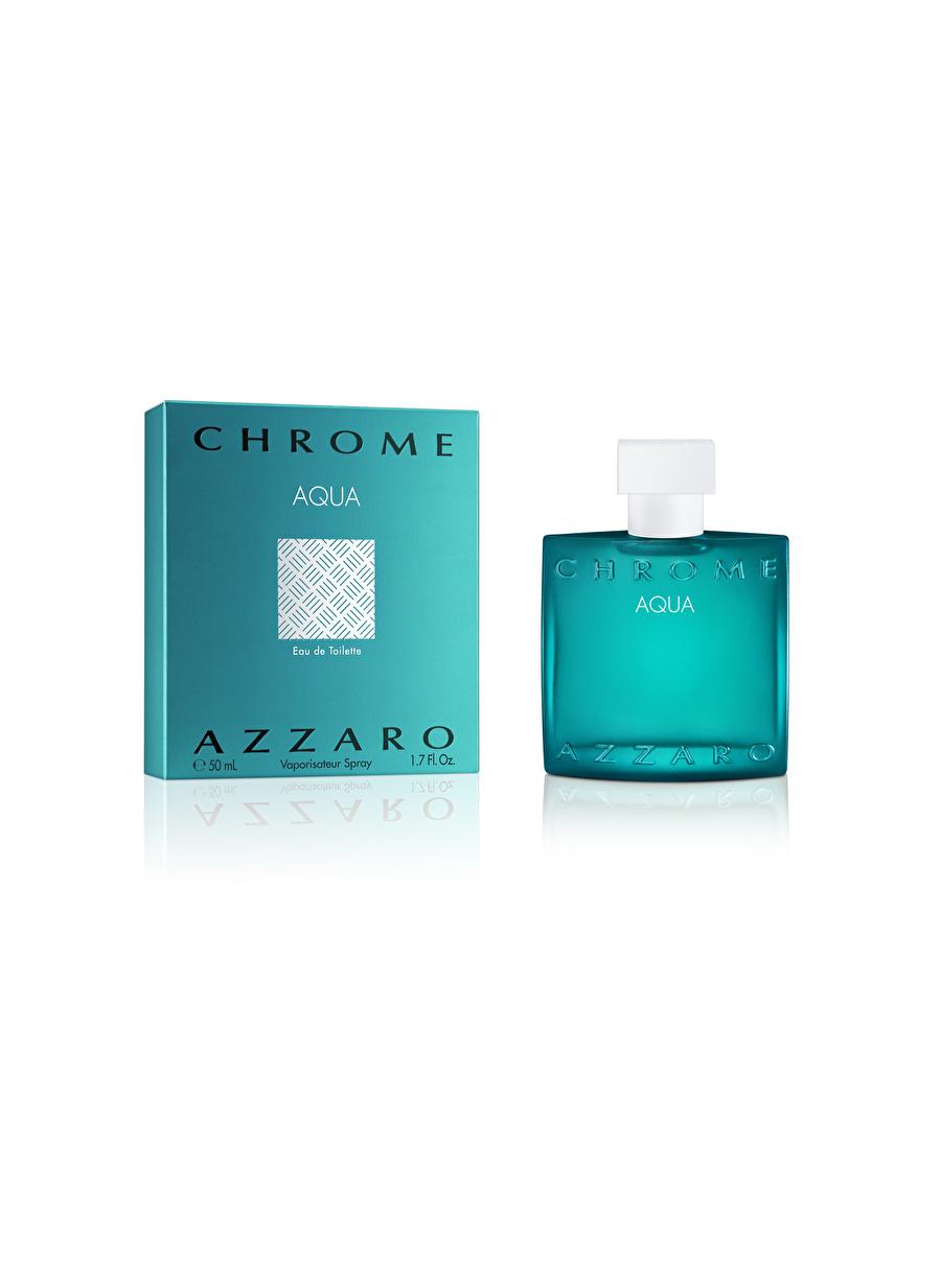 Standart Renksiz Azzaro Chrome Aqua Edt Spray 50 Ml Parfüm Kozmetik Erkek