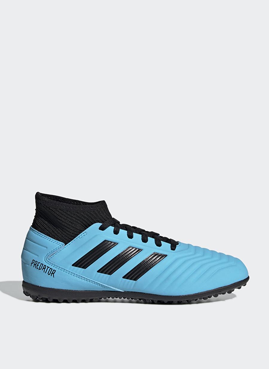 36 Erkek Siyah adidas G25803 Predator 19.3 Tf J Halı Saha Ayakkabısı Çanta Çocuk Ayakkabıları Futbol