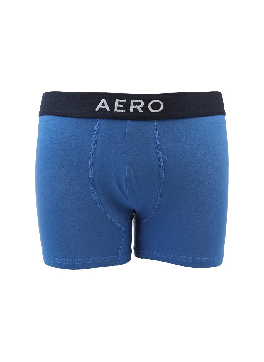 L Erkek Mavi Aeropostale Boxer Equipment Accessor Active Streetwear