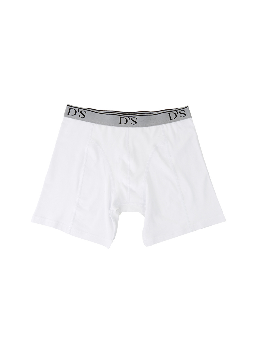 M Erkek Beyaz Ds Damat Boxer Bottom Underwear Mens