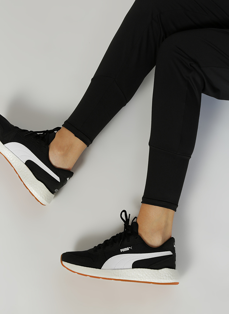40 Siyah Puma NRGY Neko Retro Wns Koşu Ayakkabısı Spor Kadın KoşuAntrenman
