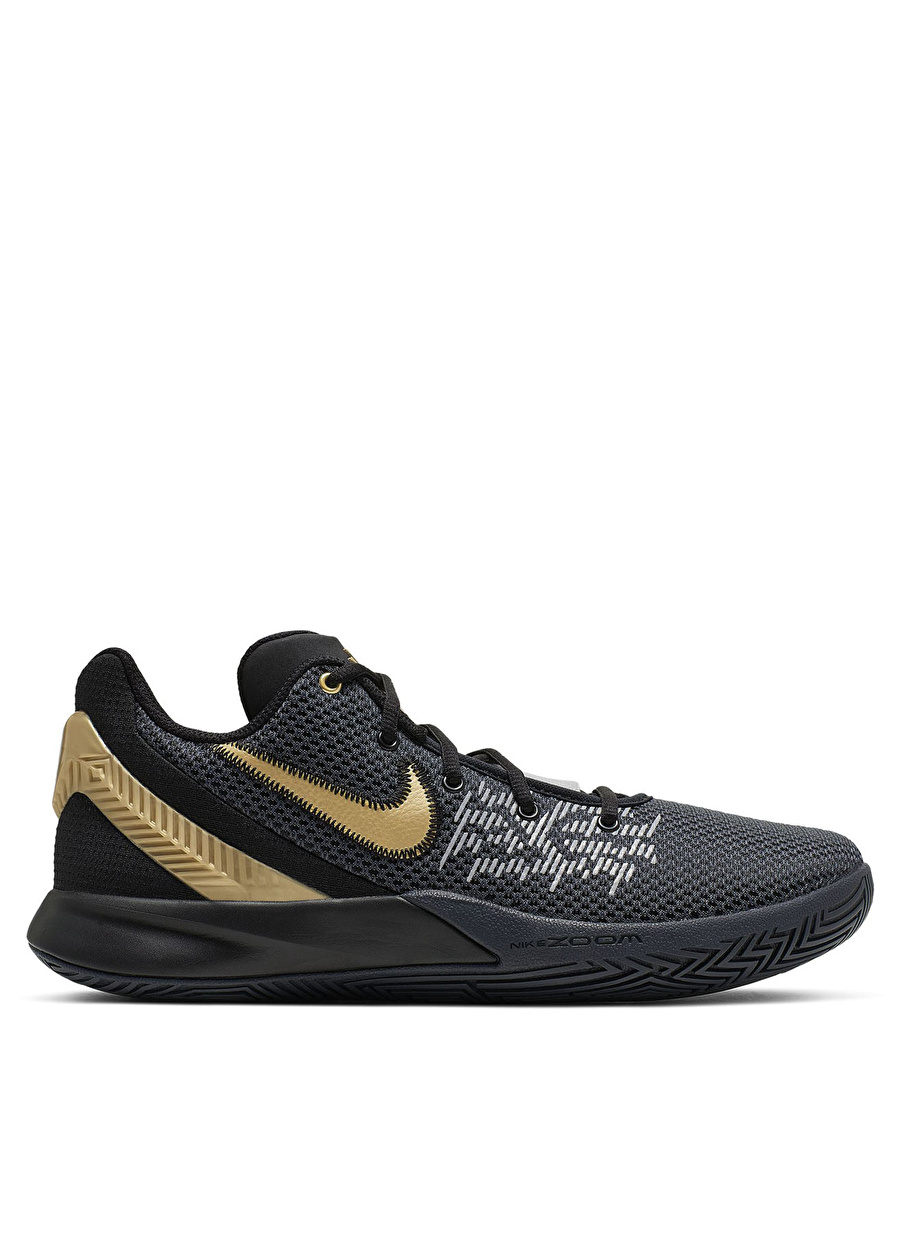 42.5 Siyah Nike Flytrap II Basketbol Ayakkabısı Çanta Erkek Sneaker