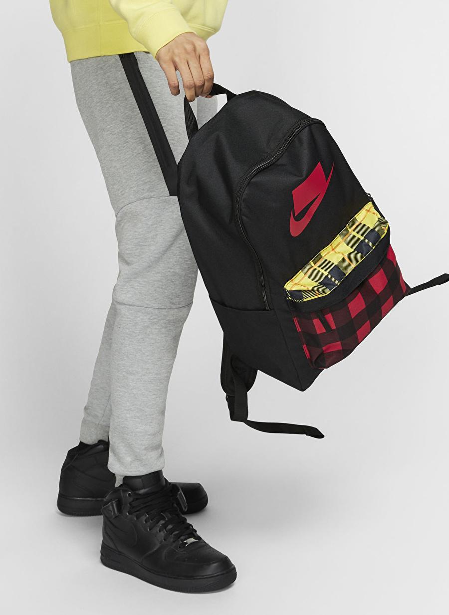 Standart unisex Siyah Nike Heritage 2.0 Sırt Çantası Bags Active Streetwear
