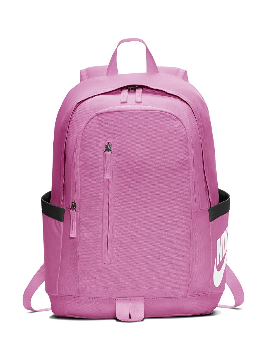 Standart unisex Pembe Nike All Access Soleday Sırt Çantası Bags Active Streetwear