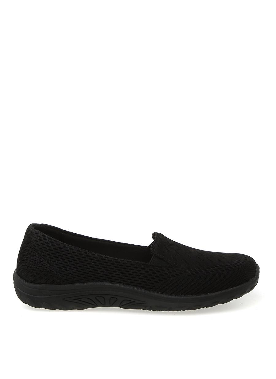 36.5 Siyah Skechers 77282 BLK Casual-S Work Relaxed Fit: Sulloway Kadın Düz Ayakkabı Çanta