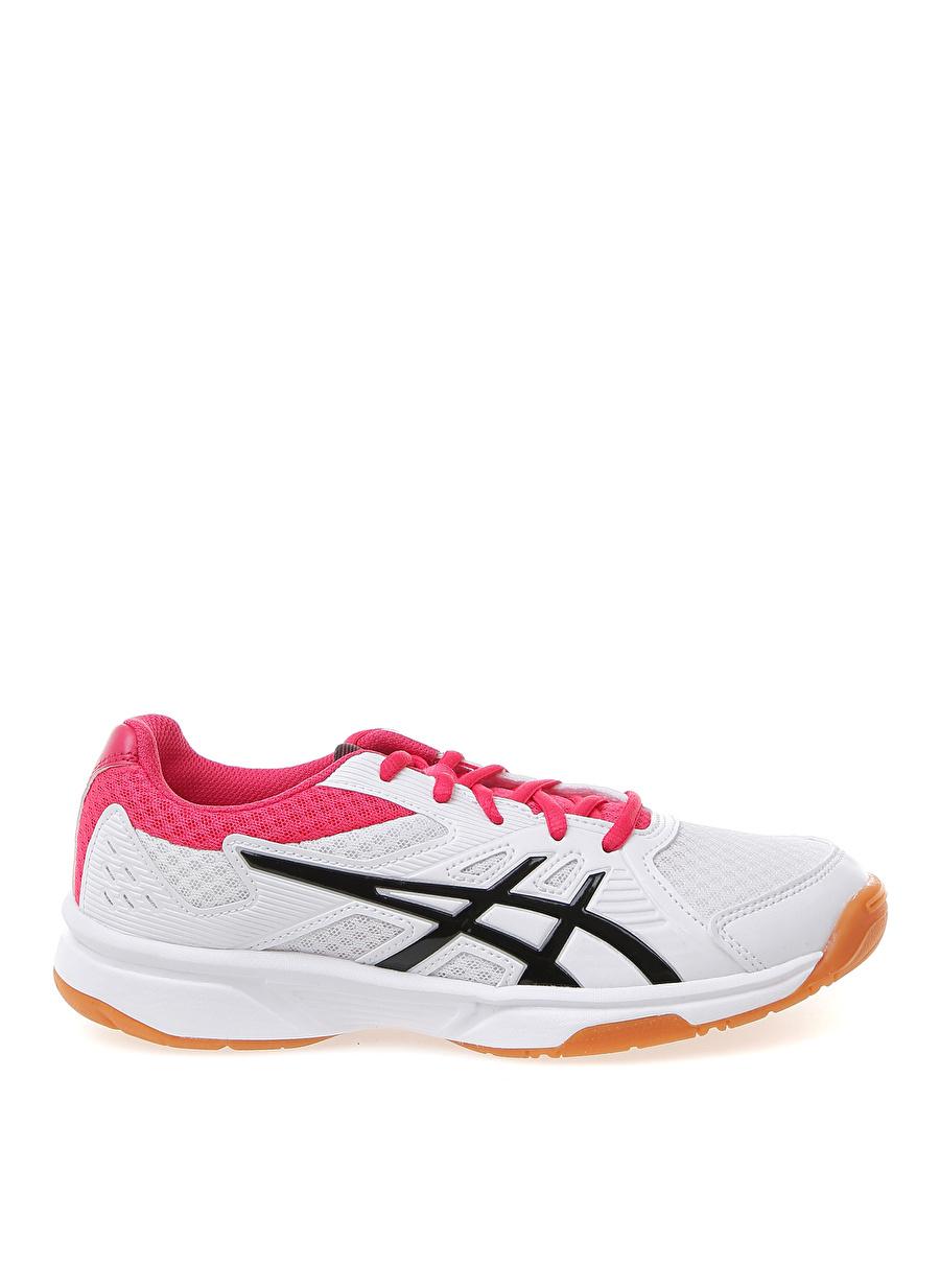 42.5 Kadın Beyaz - Pembe Asics Upcourt 3 Fıtness Ayakkabısı Spor Türleri Koşu Antrenman