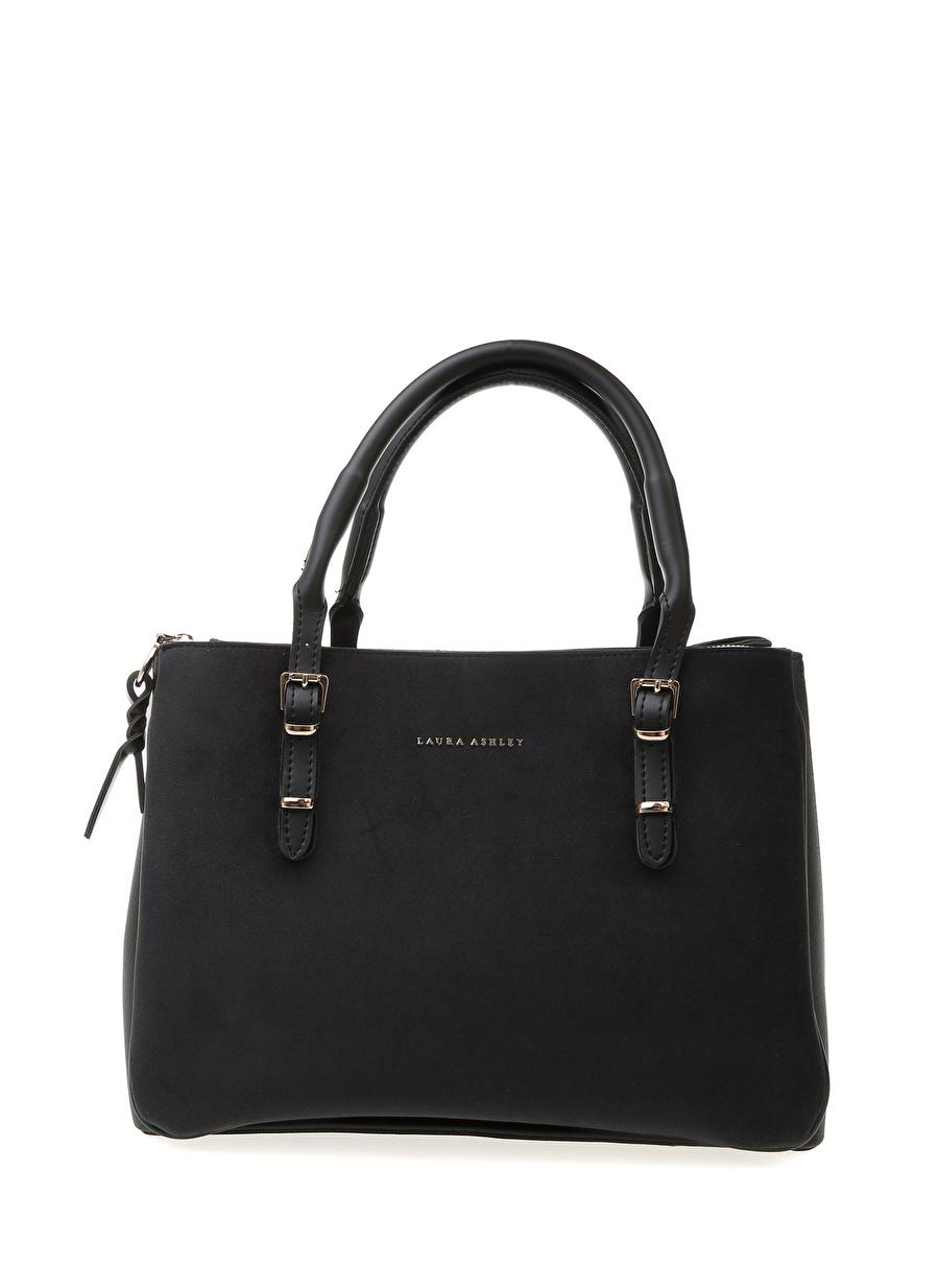 Standart Kadın Siyah Laura Ashley El Çantası Bags Ladies