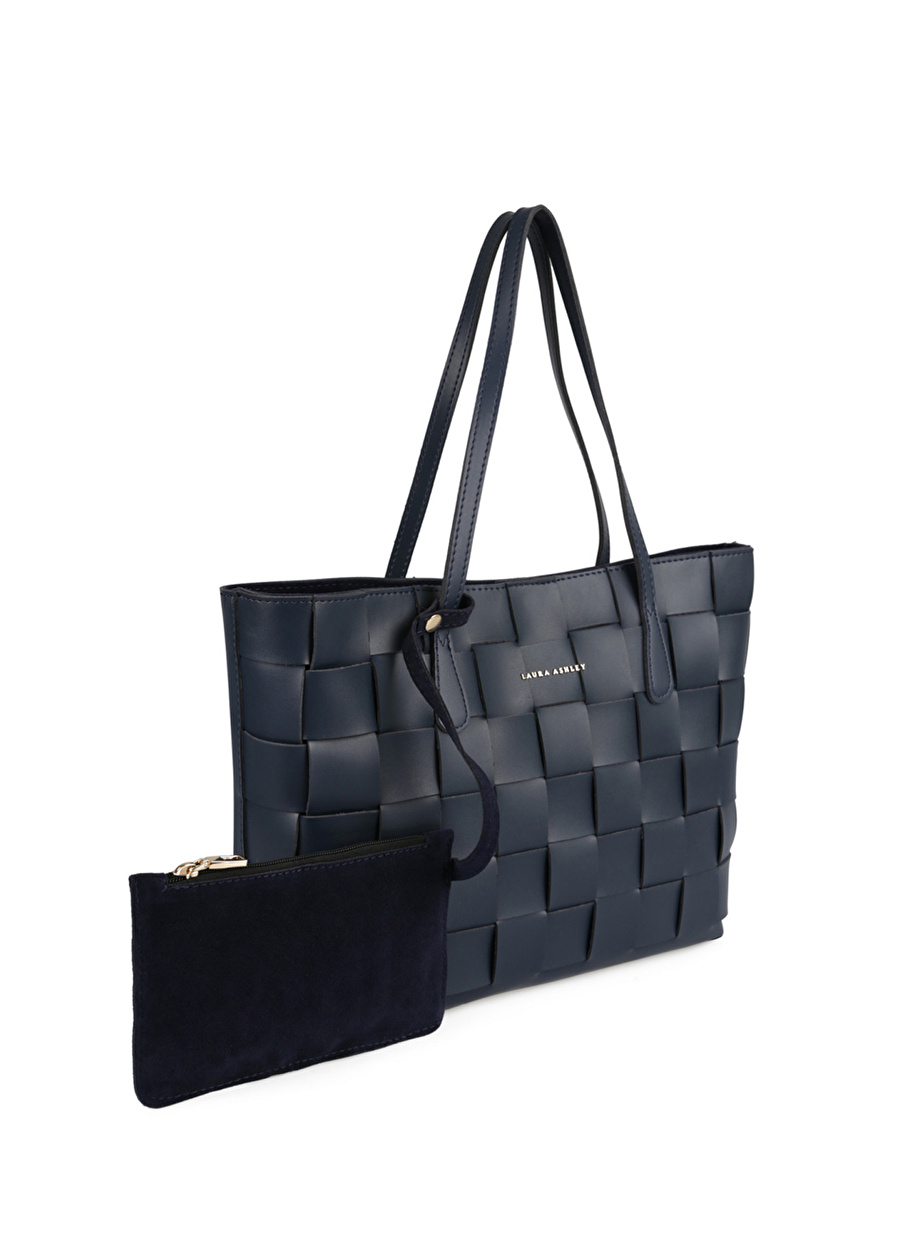 Standart Kadın Lacivert Laura Ashley Dark Blue El Çantası Bags Ladies