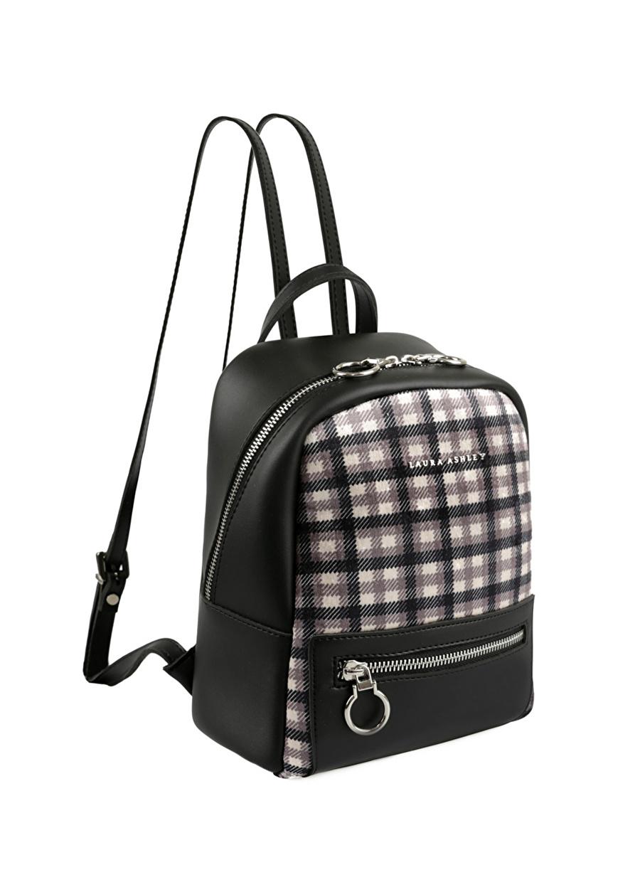 Standart Kadın Siyah Laura Ashley Sırt Çantası Bags Ladies