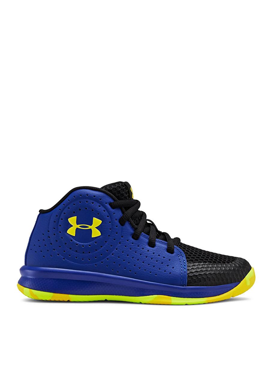 29.5 Erkek Mavi Under Armour 3022122-402 PS Jet 2019 Basketbol Ayakkabısı Çanta Çocuk Ayakkabıları