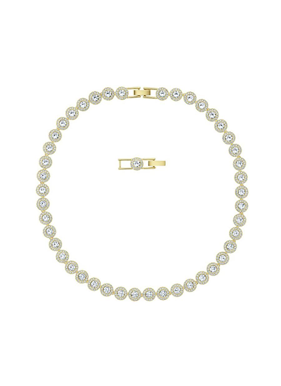 Standart Kadın Renksiz Swarovski Kolye Jewelry Accessories (Jwg)